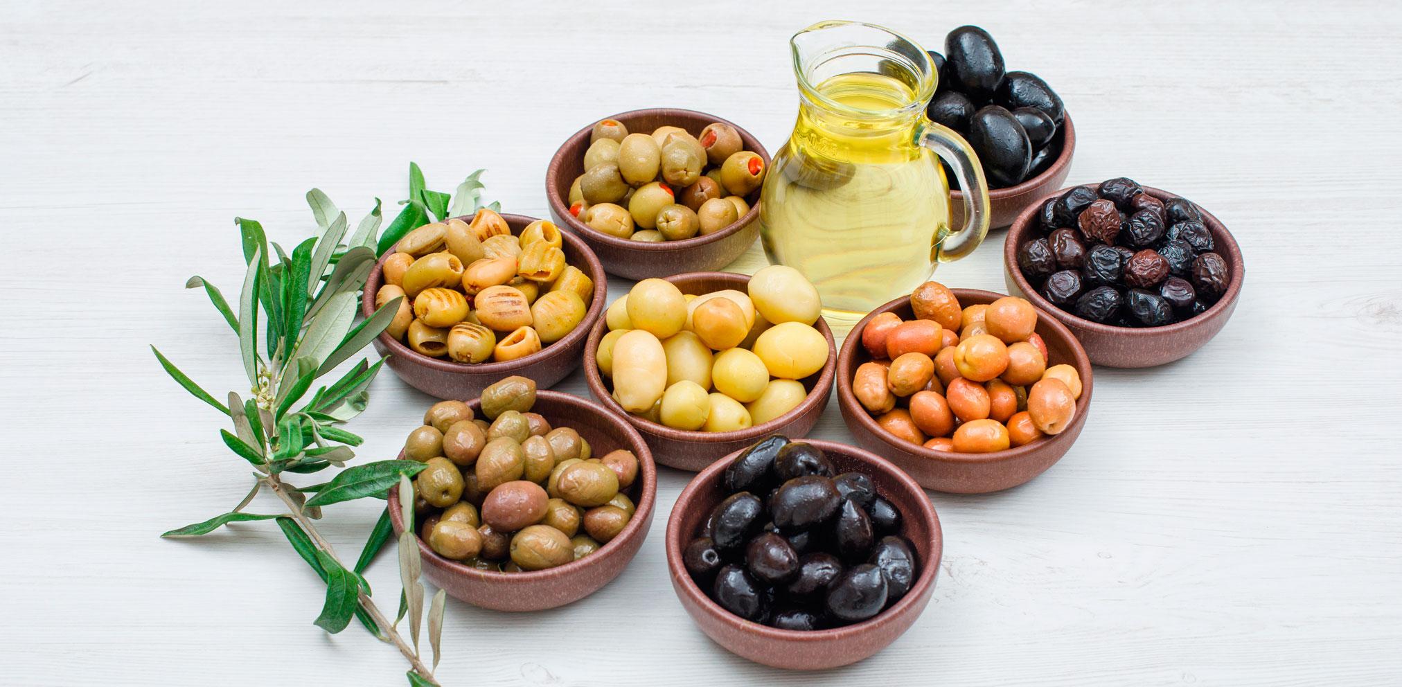 Variedades de aceitunas en España